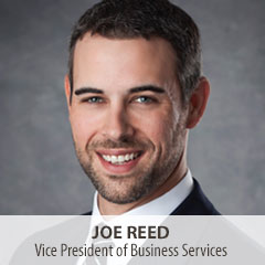 Joe Reed, Vice President of Business Services