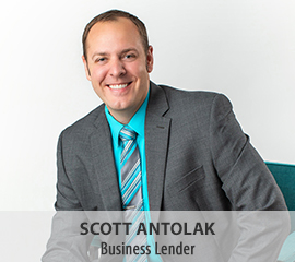 Scott Antolak, Business Lender Brainerd Lakes Area, Little Falls, Pequot Lakes, Aitkin and Crosby